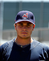 Rolando Petit  -  Cleveland Indians - 2009 extended spring training.Photo by:  Bill Mitchell/Four Seam Images