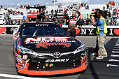 NASCAR XFINITY Series<br /> Zippo 200 at The Glen<br /> Watkins Glen International, Watkins Glen, NY USA<br /> Saturday 5 August 2017<br /> Kyle Busch, NOS Rowdy Toyota Camry, celebrates after winning the Zippo 200.<br /> World Copyright: John K Harrelson<br /> LAT Images