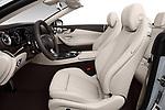 Front seat view of a 2018 Mercedes Benz E Class Base 2 Door Convertible front seat car photos