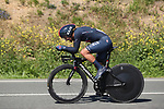 Richard Carapaz (ECU) Ineos Grenadiers in action during Stage 1 of the Itzulia Basque Country 2021, an individual time trial running 13.9km from Bilbao to Bilbao, Spain. 6th April 2021.  <br /> Picture: Luis Angel Gomez/Photogomezsport   Cyclefile<br /> <br /> All photos usage must carry mandatory copyright credit (© Cyclefile   Luis Angel Gomez/Photogomezsport)