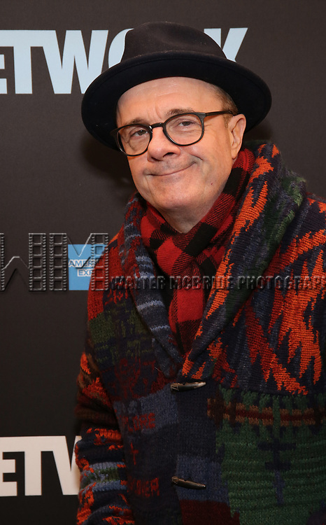 """Nathan Lane attends the Broadway Opening Night Performance  for """"Network"""" at the Belasco Theatre on December 6, 2018 in New York City."""