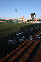 Marina Auto Stadium. The U.S. Women's National Team defeated Canada 1-0 in a friendly match at Marina Auto Stadium in Rochester, NY on July 19, 2009. Abby Wambach of the USWNT scored her 100th career goal in the second half..