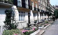 London: Wilton Place, Knightsbridge. 1820's.