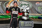 Monster Energy NASCAR Cup Series<br /> Quaker State 400<br /> Kentucky Speedway, Sparta, KY USA<br /> Sunday 9 July 2017<br /> Martin Truex Jr, Furniture Row Racing, Furniture Row/Denver Mattress Toyota Camry in victory lane<br /> World Copyright: Logan Whitton<br /> LAT Images