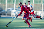 Mannheim, Germany, March 06: During the friendly match between Switzerland (white) and Feudenheimer HC (red) on March 6, 2021 at Am Neckarkanal in Mannheim, Germany. (Copyright Dirk Markgraf / www.265-images.com) ***