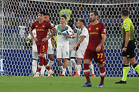 12th September 2021; Olimpico Stadium, Rome, Italy; Serie A championship football, AS Roma versus US Sassulo ; Filip Djuricic of US Sassuolo celebrates after scoring the goal for 1-1