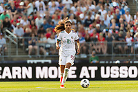 EAST HARTFORD, CT - JULY 5: Nancy Antonio #16 of Mexico during a game between Mexico and USWNT at Rentschler Field on July 5, 2021 in East Hartford, Connecticut.