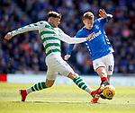 12.05.2019 Rangers v Celtic: Oliver Burke and Steven Davis