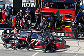Monster Energy NASCAR Cup Series<br /> AXALTA presents the Pocono 400<br /> Pocono Raceway, Long Pond, PA USA<br /> Sunday 11 June 2017<br /> Erik Jones, Furniture Row Racing, GameStop/Cars 3: Driven to Win Toyota Camry pit stop<br /> World Copyright: Russell LaBounty<br /> LAT Images<br /> ref: Digital Image 17POC1rl_04803