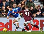 26.01.2020 Hearts v Rangers: Matt Polster and Euan Henderson