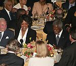 Oprah Winfrey  ( Honoree )<br />with David Rockefeller and Kofi Annan<br />Attending the United Nations Association of USA Global Leadership Dinner honoring Oprah Winfrey with the Global Humanitarian Action Award at the Waldorf Astoria Hotel in New York City.<br />September 30, 2004