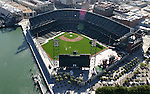 June 19, 2005; San Francisco, CA, USA; Aerial view of AT&T Park in San Francisco, CA. Photo by: Phillip Carter