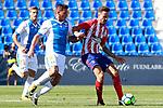 CD Leganes' Gabriel Pires (l) and Atletico de Madrid's Saul Niguez during friendly match. August 12,2017. (ALTERPHOTOS/Acero)