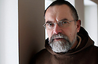 "Brother Joel. The new Munkeby Mariakloster - kloster is Norwegian for monastery . The four founding French monks will establish their discrete presence as a contemplative monastery according to the Rule of Saint Benedict, written in the 6th century. Brother Joel (55) & Cîteaux's Prior, brothers Arnaud (31), Bruno (33) and Cyril (81), have all chosen to be part of the founding community, despite Norway's rude climate and winter darkness at latitude 63º N, not far from the arctic circle.Munkeby, the ""place of the monks"" was the third and northernmost Norwegian monastery established by the Cistercians in the 12th century"