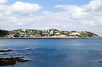 Village of Torquay England Devon and ocean called town  the English Rivera Torquay England Devon called the English Rivera