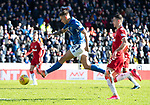 St Johnstone v Rangers…..23.02.20   McDiarmid Park   SPFL<br />Callum Hendry scores for St Johnstone<br />Picture by Graeme Hart.<br />Copyright Perthshire Picture Agency<br />Tel: 01738 623350  Mobile: 07990 594431