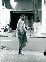Nonne in Saigon, Vietnam 1991