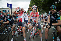 ready to start that windy stage<br /> <br /> stage 11: Carcassonne - Montpellier (162km)<br /> 103rd Tour de France 2016