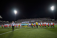 Columbus, Ohio - Friday, November 11, 2016: United States, Mexico  during a USMNT vs Mexico WCQ at Mapfre Stadium. Mexico defeated the USA 2-1.