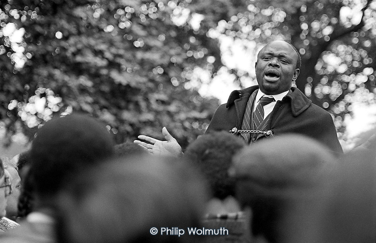 David, Speakers' Corner, Hyde Park, London.