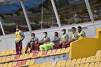 BOGOTA - COLOMBIA, 20-06-2021: Millonarios F.C. y Deportes Tolima en partido por la final vuelta como parte de la Liga BetPlay DIMAYOR I 2021 jugado en el estadio Nemesio Camacho El Campin de la ciudad de Bogotá. / Millonarios F.C. and Deportes Tolima in the second leg final match as part of BetPlay DIMAYOR League I 2021 played at the Nemesio Camacho El Campin Stadium in Bogota city. Photo: VizzorImage / Gabriel Aponte / Staff.