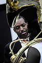 Donald Harrison Jr. auditions high school students for the Trombone Shorty Academy at Tulane University