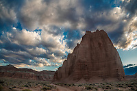 The Temple of the Sun at Capitol Reef National Park's Cathedral Valley