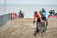 Ryan Kamp (NED/Pauwels Sauzen-Bingoal)<br /> <br /> UCI 2021 Cyclocross World Championships - Ostend, Belgium<br /> <br /> U23 Men's Race<br /> <br /> ©kramon