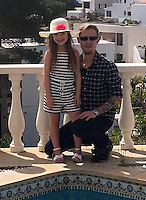 "COPY BY TOM BEDFORD<br /> Pictured: Brooke Howes (L) on holiday with her stepdad Adam Hornsby (R)<br /> Re: A seven-year-old girl was kicked, punched and scratched for singing her favourite pop song in school.<br /> Little Brooke Howes came home in tears saying she was being bullied because she humms the tunes to herself. <br /> Her mother Lianne, 26, witnessed the latest attack as she waited to pick her little girl up from school.<br /> Lianne was appalled when she saw the bright red scratch marks all over Brooke's back.<br /> Furious Lianne said: ""She was walking out of school when a boy came behind her and scrammed her back.<br /> ""She was wearing a summer dress and cardigan so it must have been done with some force to cause marks like that through her clothing.<br /> ""Brooke is really upset - she is scared of going to school."""