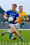 Dara Moynihan, Kerry in action against Conor McGill, Meath during the Allianz Football League Division 1 Round 4 match between Kerry and Meath at Fitzgerald Stadium in Killarney, on Sunday.