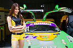 Padock Girl during the 2015 AFR Series as part the 2015 Pan Delta Super Racing Festival at Zhuhai International Circuit on September 20, 2015 in Zhuhai, China.  Photo by Moses Ng/Power Sport Images