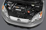 High angle detail of a 2008 Honda CRV engine