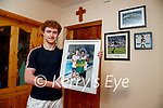 Paul Walsh at home in Brosna after his trip to Brazil to meet soccer star Ronaldinho.
