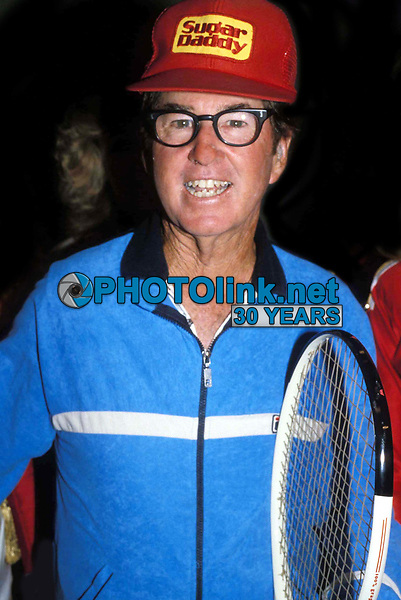 Bobby Riggs 1985<br /> Photo by Adam Scull/PHOTOlink