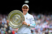 Ashleigh Barty (Aus)<br /> London 10/07/2021 Wimbledon <br /> Tennis Grande Slam 2021<br /> Photo Antonie Couvercelle / Panoramic / Insidefoto <br /> ITALY ONLY