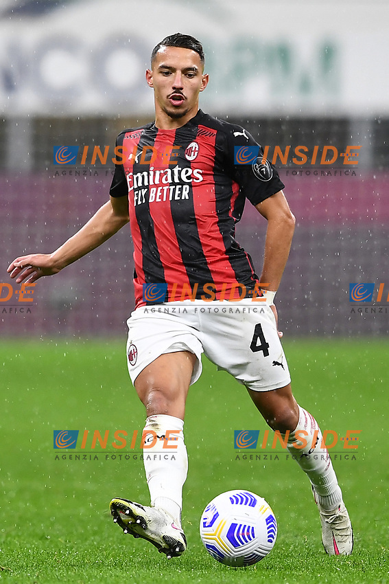 Ismael Bennacer<br /> Serie A football match between AC Milan and Spezia Calcio at San Siro Stadium in Milano  (Italy), October 4th, 2020. Photo Image Sport / Insidefoto