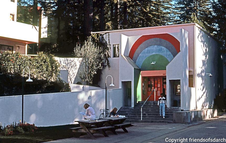 Charles Moore/Turnbull: Kresge College, U.C.S.C. 1971-73.  Photo '83.