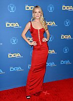 LOS ANGELES, USA. January 25, 2020: Faith Schroder at the 72nd Annual Directors Guild Awards at the Ritz-Carlton Hotel.<br /> Picture: Paul Smith/Featureflash