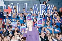 Hillary Clinton - Town Hall with Bill Clinton - Nashua Community College - Nashua, NH - 2 Feb 2016