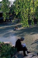China, Peking, im Sun Yatsen-Park