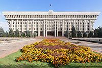 Weißes Haus (Parlament), Bishkek, Kirgistan, Asien<br /> White House (Parliament), Bishkek, Kirgistan, Asia