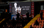 Dundee United v St Johnstone…12.01.21   Tannadice     SPFL<br />Applause on 83 minutes in memory of Jim McLean<br />Picture by Graeme Hart.<br />Copyright Perthshire Picture Agency<br />Tel: 01738 623350  Mobile: 07990 594431
