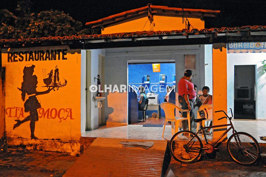 Bar, restaurante e Lan house em Morros da Mariana. Pauí. 2008. Foto de Zaida Siqueira.