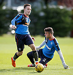 Barrie McKay goes around Liam Kelly