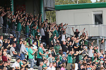 19.09.2020, Dietmar-Scholze-Stadion an der Lohmuehle, Luebeck, GER, 3. Liga, VfB Luebeck vs 1.FC Saarbruecken <br /> <br /> im Bild / picture shows <br /> Stimmung bei den Luebecker Fans<br /> <br /> DFB REGULATIONS PROHIBIT ANY USE OF PHOTOGRAPHS AS IMAGE SEQUENCES AND/OR QUASI-VIDEO.<br /> <br /> Foto © nordphoto / Tauchnitz