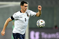 Kevin Lasagna of Italy in action during the friendly football match between Italy and Moldova at Artemio Franchi Stadium in Firenze (Italy), October, 7th 2020. Photo Andrea Staccioli/ Insidefoto