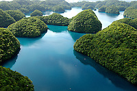 AERIAL PALAU AND THE ROCK ISLANDS, MICRONESIA