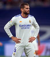 25th September 2021; Estadio Santiagp Bernabeu, Madrid, Spain; Men's La Liga, Real Madrid CF versus Villarreal CF; Nacho of Real Madrid during the second half