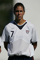 MAR 11, 2006: Quarteira, Portugal:  USWNT midfielder Shannon Boxx