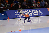 SPEEDSKATING: SALT LAKE CITY: Utah Olympic Oval, 09-03-2019, ISU World Cup Finals, 1000m Men, Nico Ihle (GER), Thomas Krol (NED), ©Martin de Jong